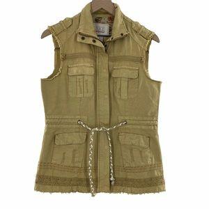 BKE Outerwear Vintage-Inspired Canvas Vest M NWOT